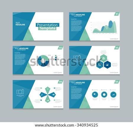 vector presentation template slides background designinfo の