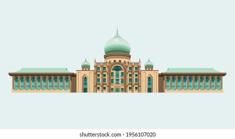 a vector of Prime Minister building or office
