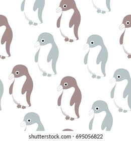 vector print with penguin