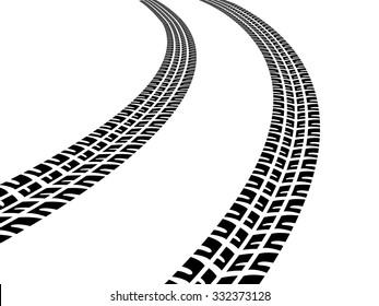 Tire tracks images stock photos vectors shutterstock - Tire tread wallpaper ...