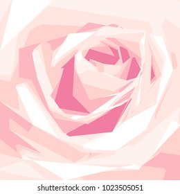 Vector purple rose flower blossom blooming background wallpaper. Floral element for wedding, marriage, anniversary or Valentine's Day card.