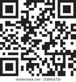 vector qr code icon information scan eps