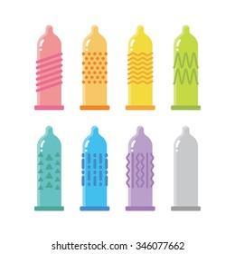 Variety of condom
