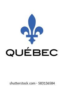 Vector Quebec Fleur de lis icon
