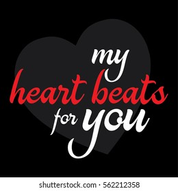 500 My Heart Beats For You Pictures Royalty Free Images Stock
