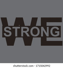 vector quote. we strong quote