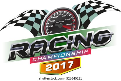 Vector Racing Championship 2017 logo event