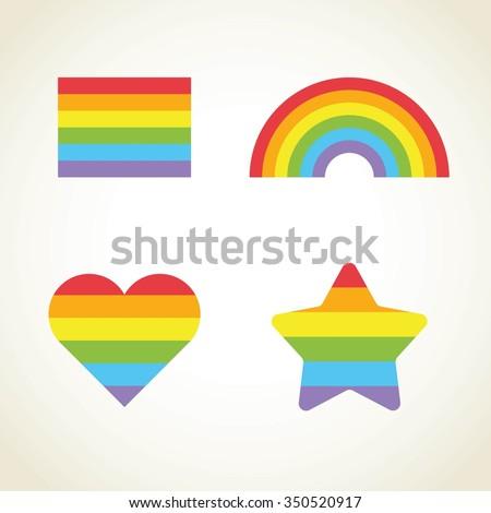Stars gay rainbow