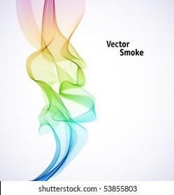 Vector Rainbow Smoke