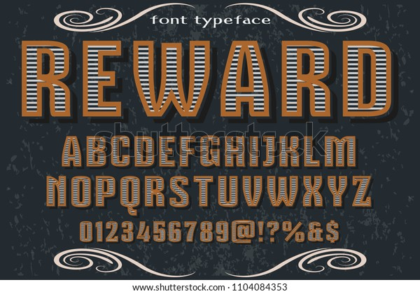 vector real hand Calligraphic Alphabet, uppercase and lowercase letters,reward