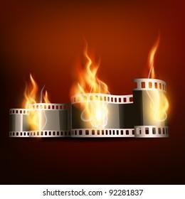 Burning Film Images, Stock Photos & Vectors | Shutterstock