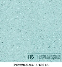 Vector realistic seamless turquoise marble texture background with natural fibers and stones