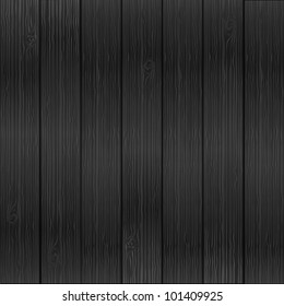 vector realistic wood texture background, grey color