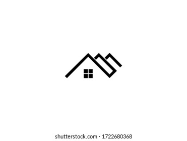 vector of realty house logo