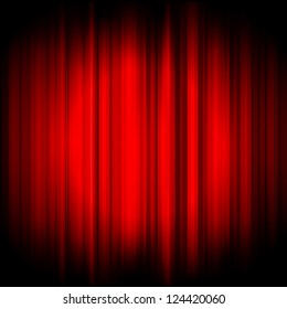 Vector red background
