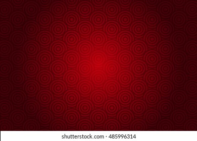 Vector red background with abstract pattern (chinese style)
