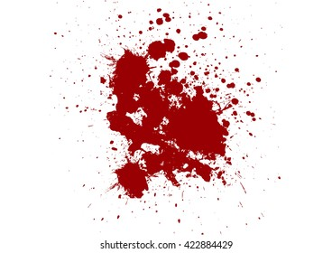 vector red ink splatter background. illustration vector design