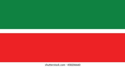 flag tatarstan republic russia stock illustration 243147253