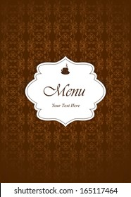 Vector. Restaurant menu design.