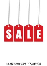 Vector Retail Sale Tag