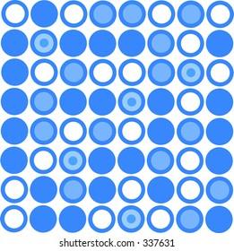 A vector retro dot pattern