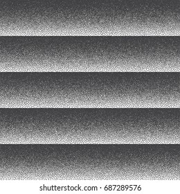 Vector Retro Style Dotwork Background. Abstract Dotted Stippling Engraving Texture