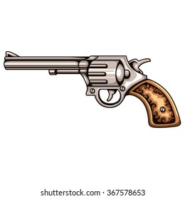Vector Revolver Gun