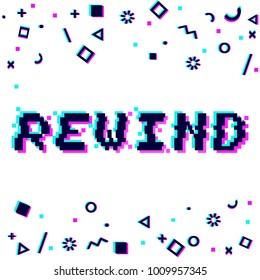 Rewind Noise Images, Stock Photos & Vectors | Shutterstock