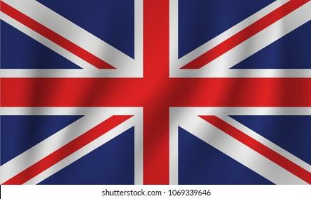 vector of ripple uk flag