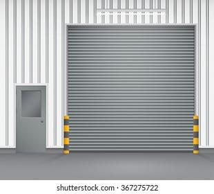 Warehouse Gate Images Stock Photos Amp Vectors Shutterstock