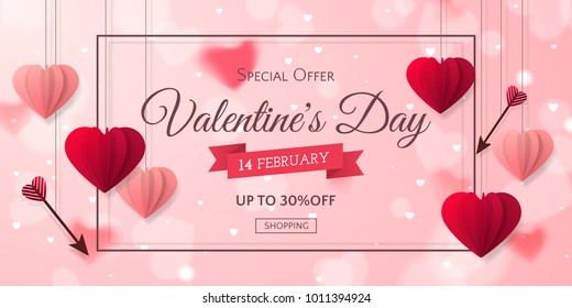 Valentines Day Banner Images Stock Photos Vectors Shutterstock