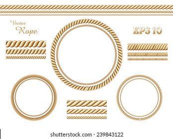 Vector rope template