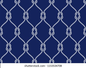 Vector ropes, fishing net,seamless