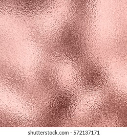 Vector rose gold metallic background with shine texture.