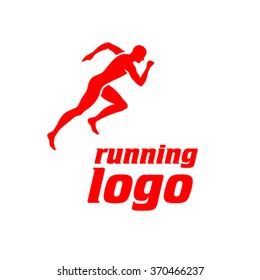 Vector Runner Logo