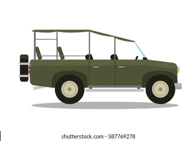 Safari Jeep Cartoon Images