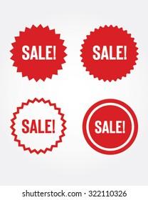 Vector Sale Starbursts