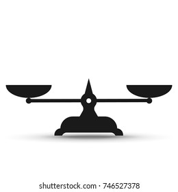 Vector scales Icon