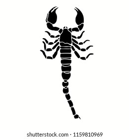 vector scorpion characters, very suitable for tattoo designs, and other design needs. easy to use and easy to edit as needed.