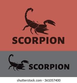 Vector Scorpion logo.