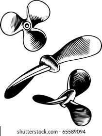 Vector screw propeller