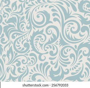 Vector seamless abstract pattern. Vintage style.