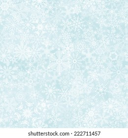 vector of seamless abstract snow flakes background