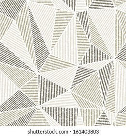 Vector seamless background.Black and gray modern texture. Abstract pattern.