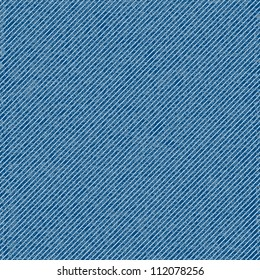Vector seamless denim texture