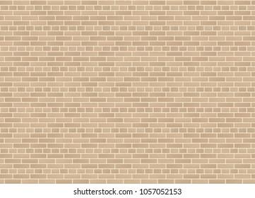 Vector seamless english garden wall bond sandstone brick wall texture