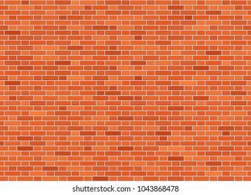 Vector seamless flemish bond brick wall texture