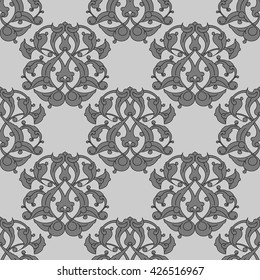 vector seamless floral pattern background