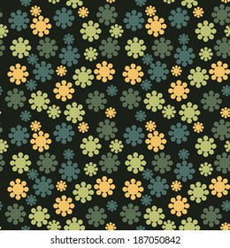 vector seamless flowers