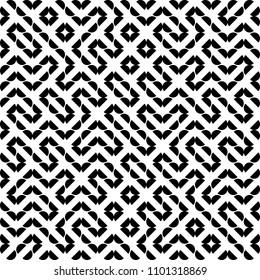 Vector Seamless Geometry Truchet Pattern